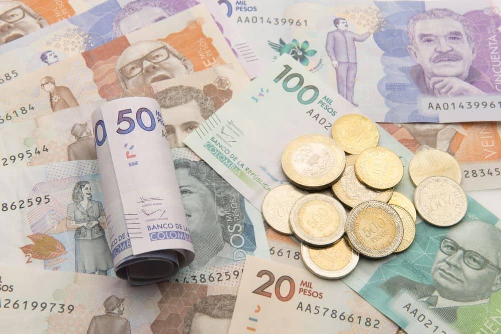 Cambiar pesos colombianos