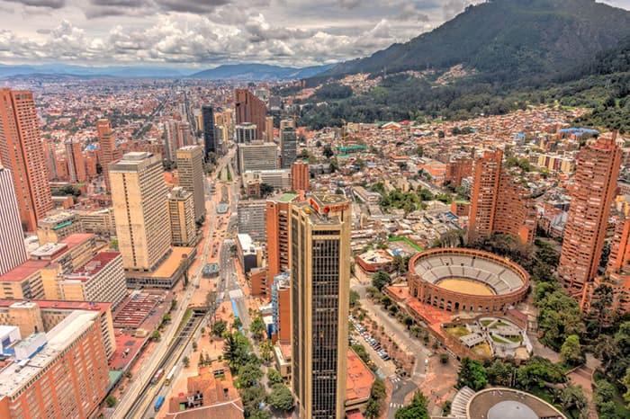 Viajar a bogota Colombia