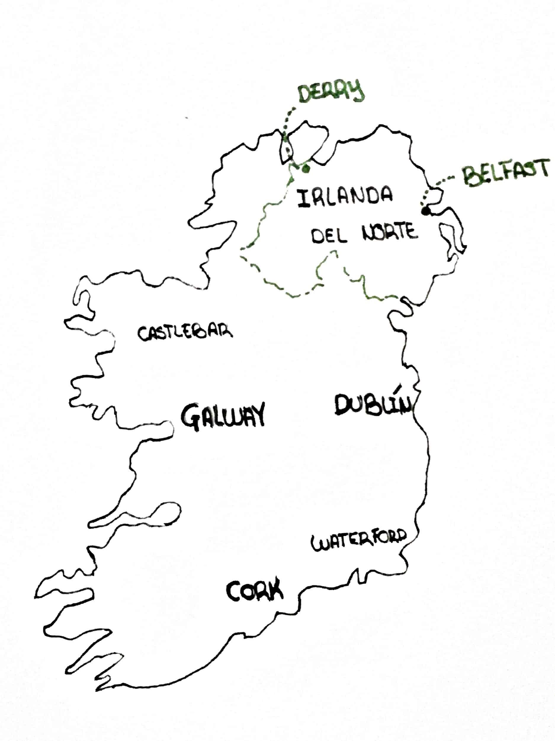 Plano de Irlanda