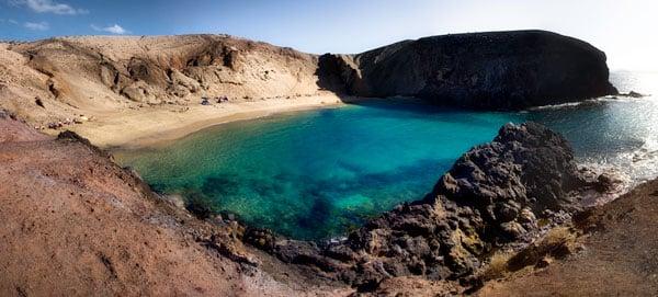 Playa Papagayo. Lanzarote, Islas Canarias