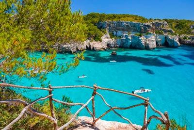 Cala Macarella. Menorca, Islas Baleares