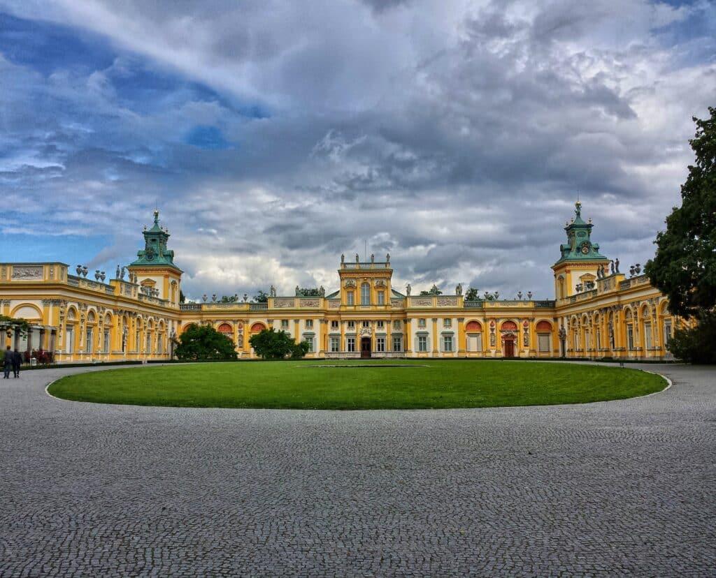 Palacio Wilanow en Varsovia
