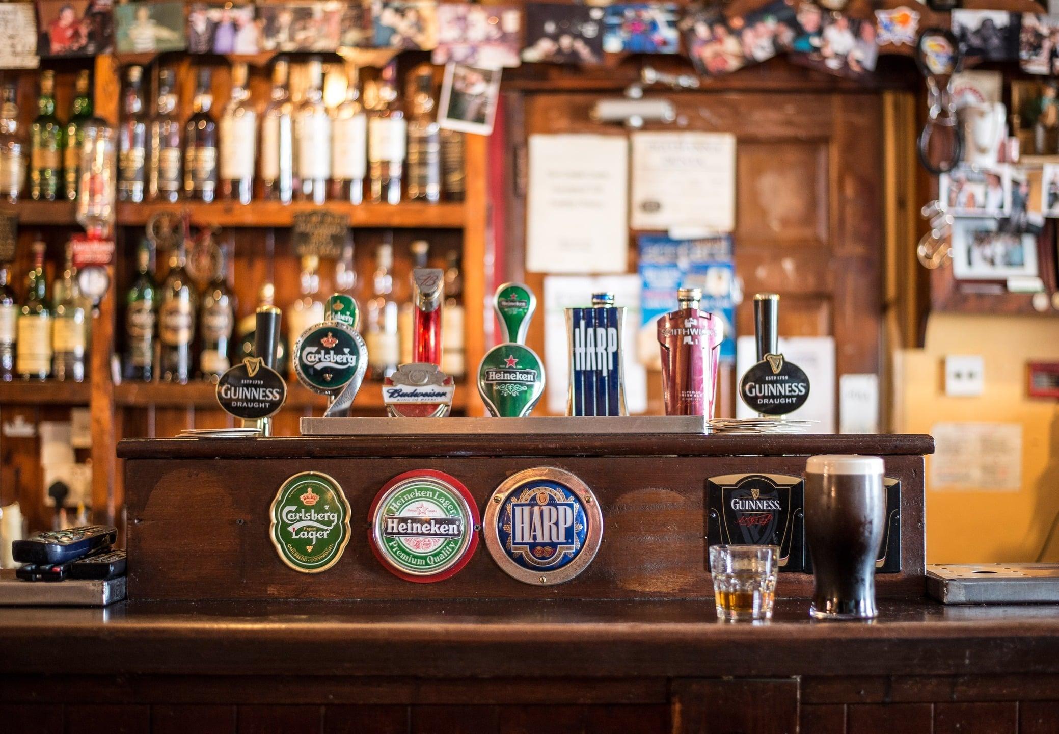 Típico pub de irlanda