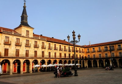 Plaza Mayor. León